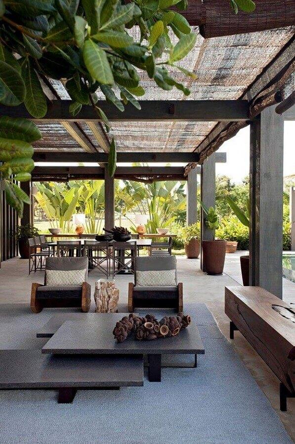 jogo de cadeiras para varanda de casa moderna Foto Style State