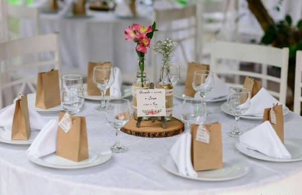 Lembrancinha de mesa casamentos