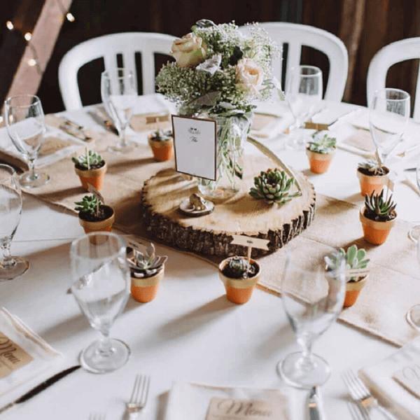 lembrancinha de mesa para casamento