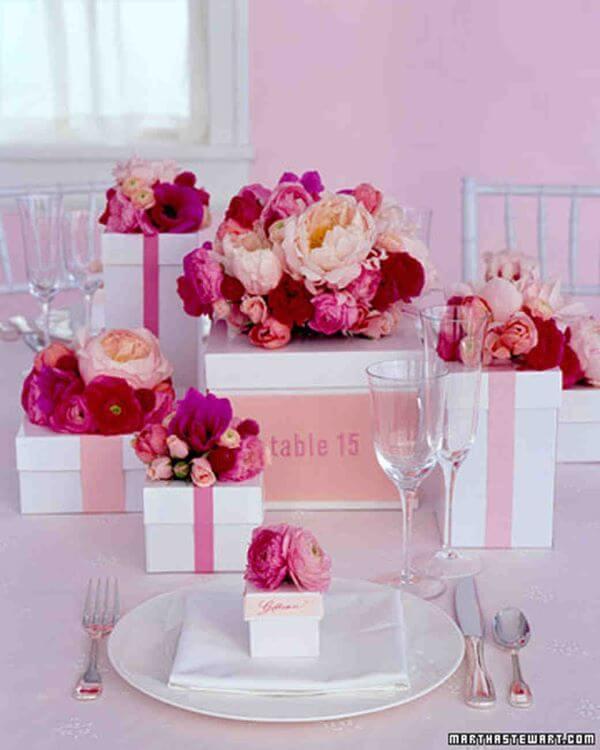 Lembrancinha de mesa para festa de aniversário
