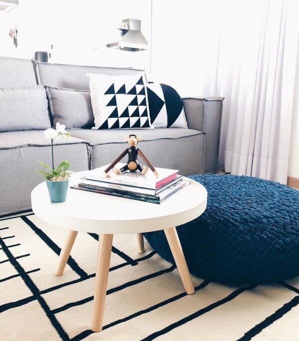 Móveis retrô para sala de estar