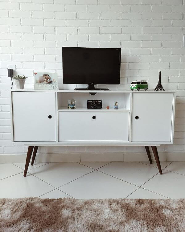 Móveis retrô branco super modernos