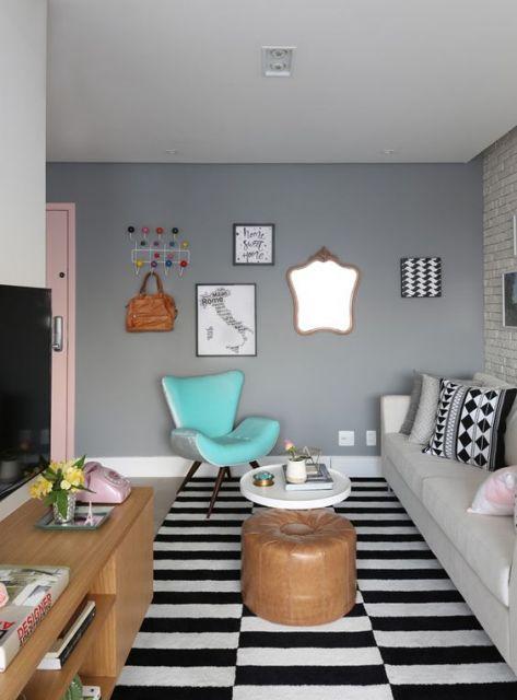 Móveis retrô para casa moderno