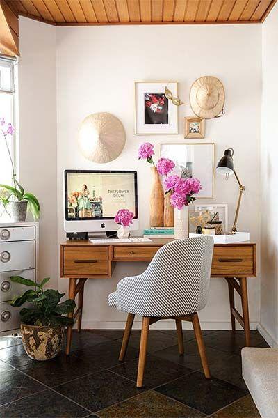 Móveis retrô para escritório