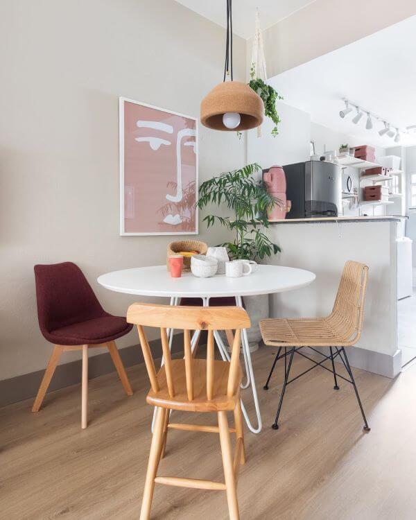 móveis retrô sala de estar