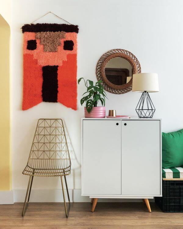 Móveis retrô para sala moderna