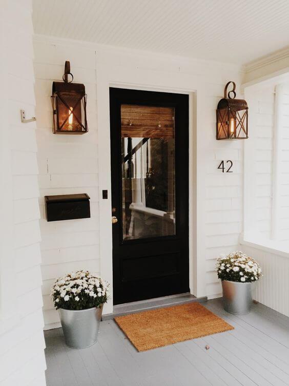 Número de casa simples e bonito