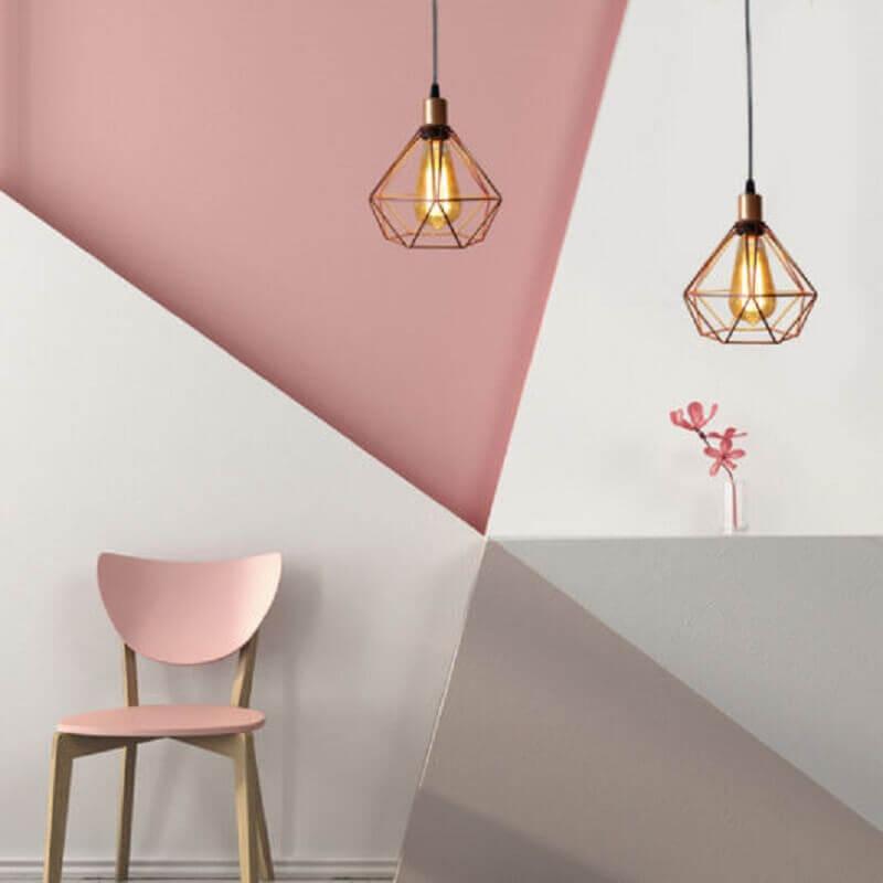 pendente aramado cobre para decoração moderna Foto Pinterest
