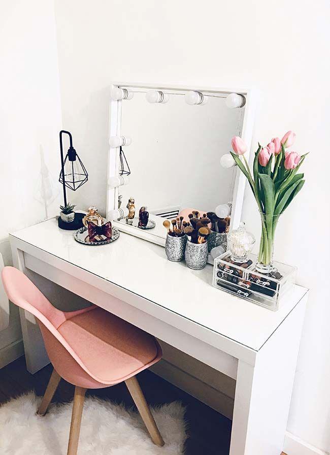 Penteadeiras com espelho camarim