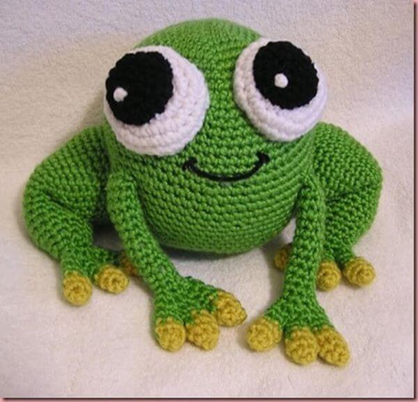 Frog for door weight