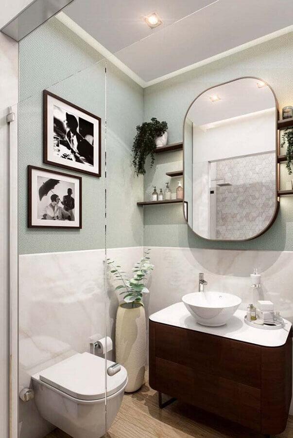 pia para banheiro pequeno Foto Apartment Therapy