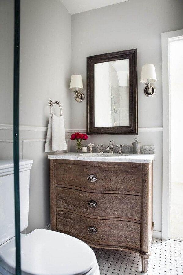 pias para banheiro pequeno Foto Niche Interiors
