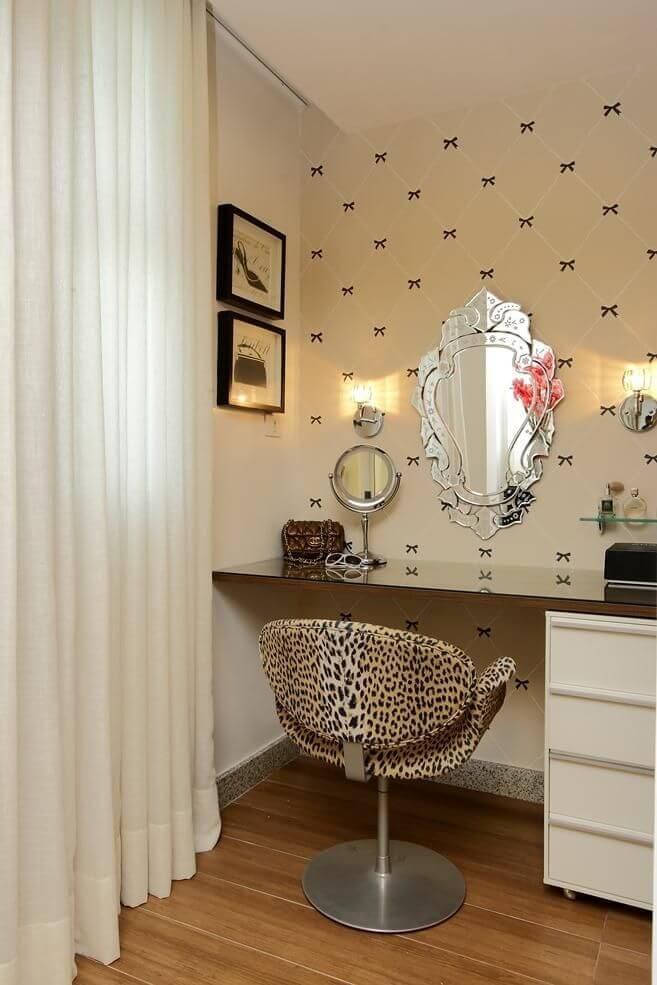 Penteadeiras personalizadas com o quarto