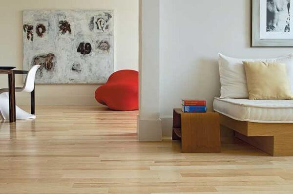 Evite grandes reformas utilizando o piso laminado no chão