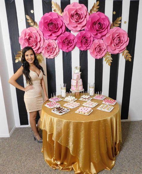rosas de papel - parede com rosas de papel