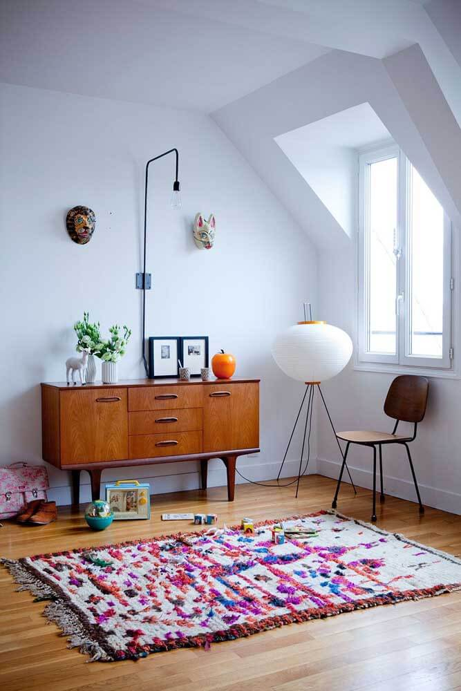 Tapete para sala de estar moderna