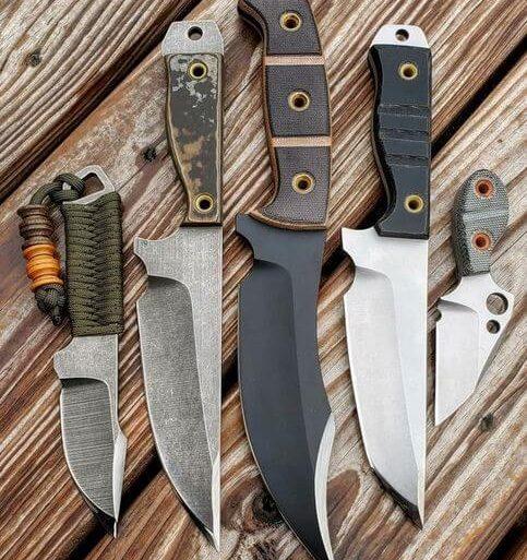 tipos de facas - coleção de facas - VK