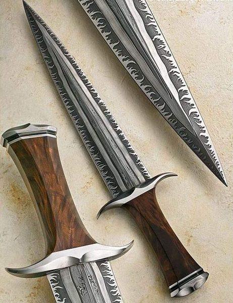 tipos de facas - faca artesanal