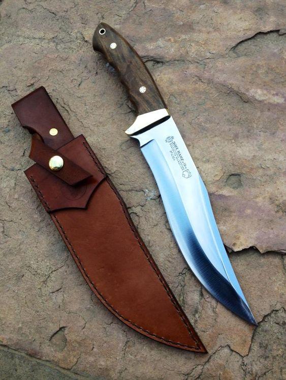 tipos de facas - faca curva