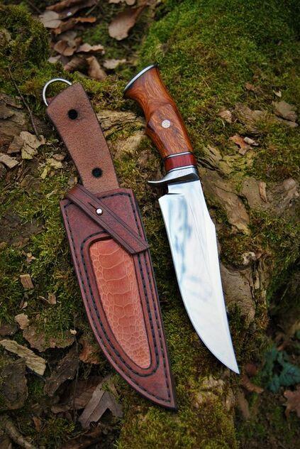 tipos de facas - faca média com bainha