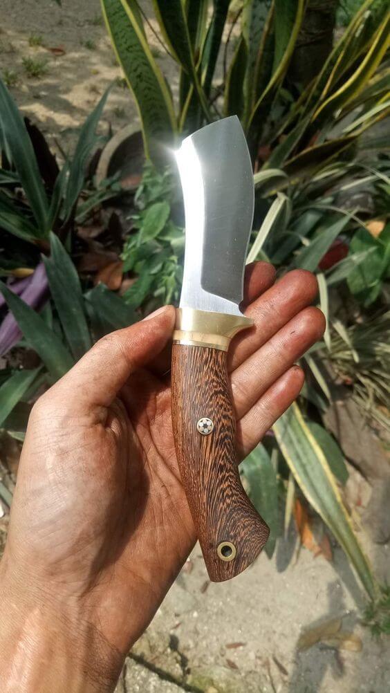 tipos de facas - faca pequena simples