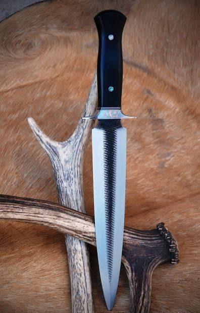 tipos de facas - faca reta