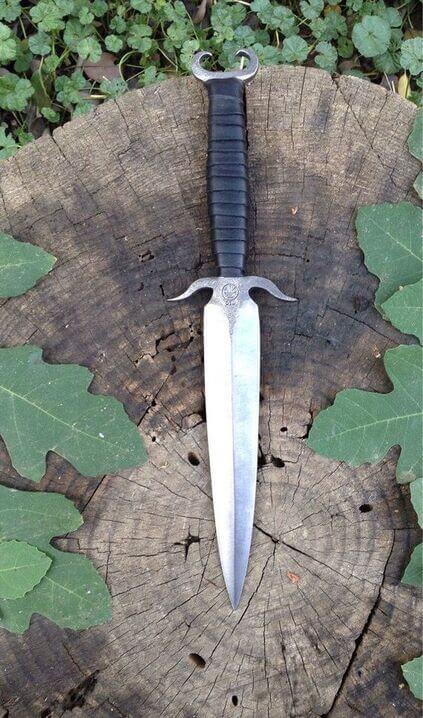 tipos de facas - faca reta simples