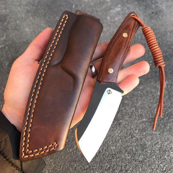 tipos de facas - faca sem ponta