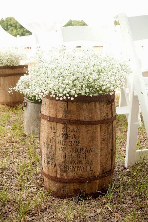 Decore o seu casamento com flor mosquitinho