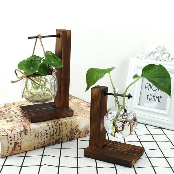 Invista em modelos de cachepot de vidro com design criativo