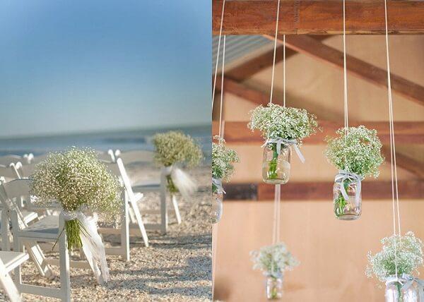 A flor mosquitinho se adapta a decorações em ambientes fechados e ao ar livre