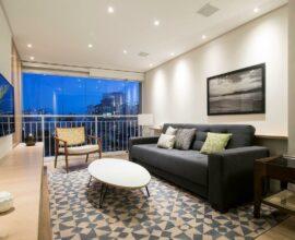 Feng Shui aplicado na sala de estar. Projeto de A.M Studio Arquitetura