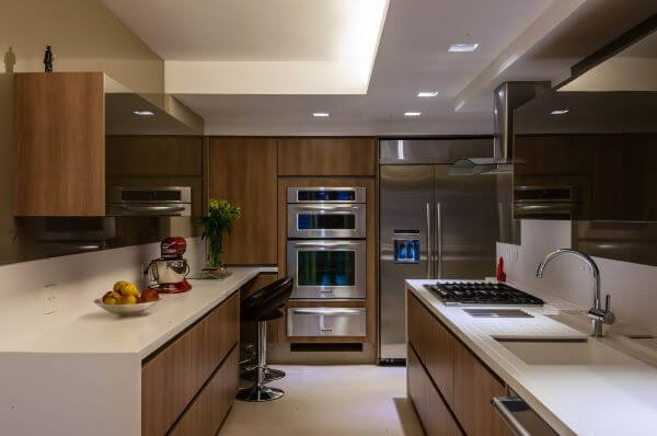 Armário de cozinha madeira