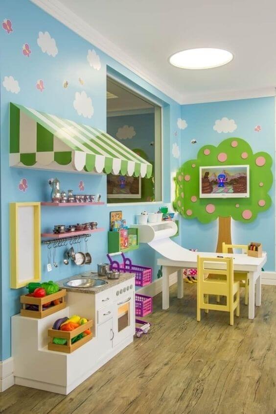 Faça uma linda brinquedoteca para sua casa
