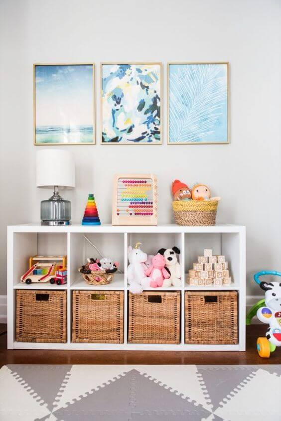 Brinquedoteca infantil organizada