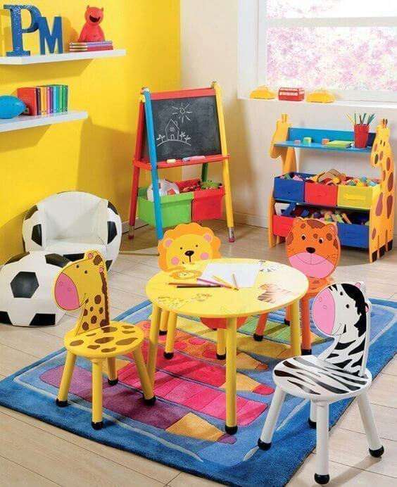 Brinquedotecas criativas para criança
