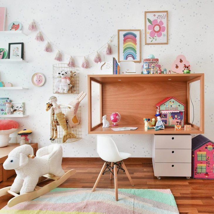 Brinquedoteca simples e bonita