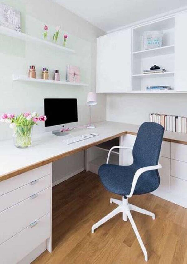 Cadeira giratória para escritório planejado