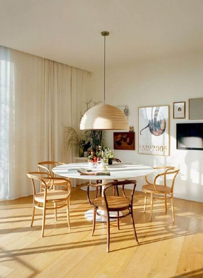 cadeiras de madeira para sala de jantar Foto Design Love Fest