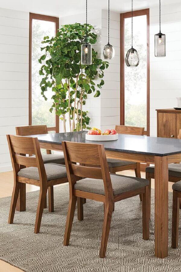 cadeiras para sala de jantar simples Foto Room & Board