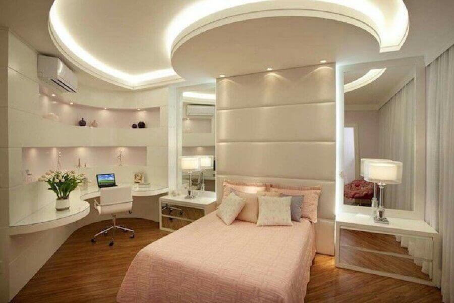 decoração de quarto de moça planejado moderno Foto Aquiles Nicolas Kilaris