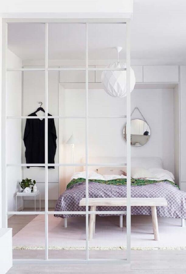 decoração minimalista para quarto branco Foto Neu dekoration stile