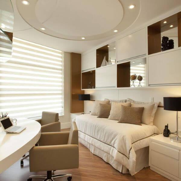 Sofá cama para escritório em casa