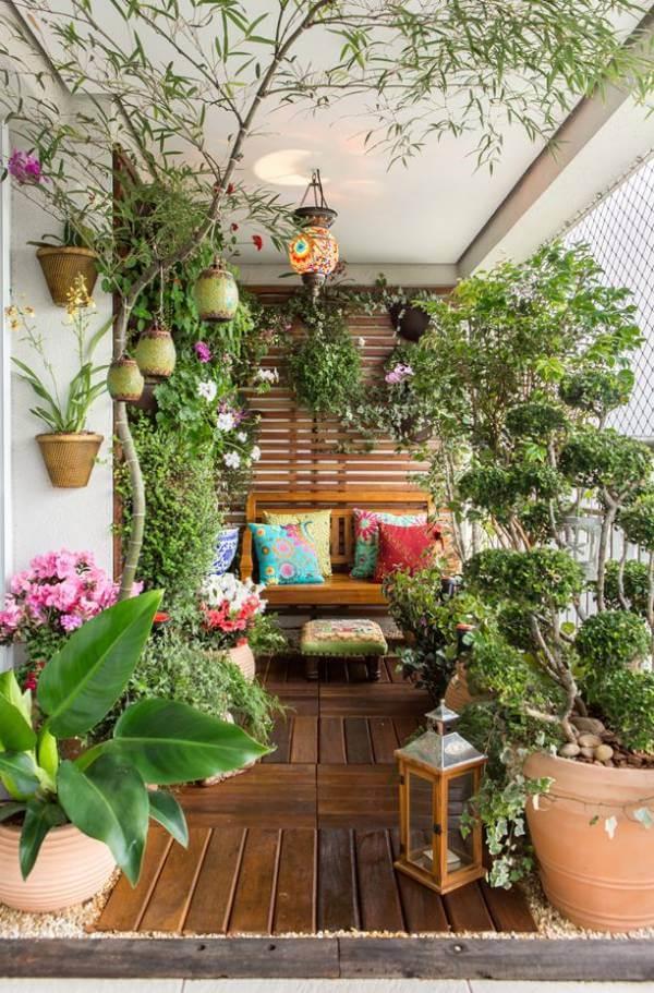 Plantas para jardim de inverno em casa