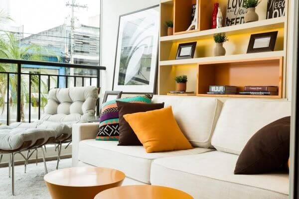 Limpeza de sofá para área gourmet