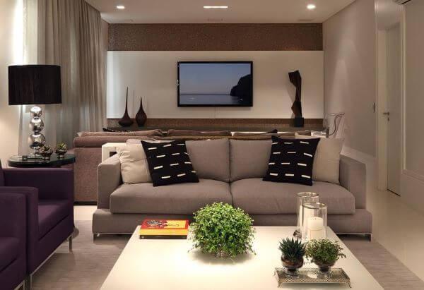 Limpeza de sofá 2 lugares para sala pequena