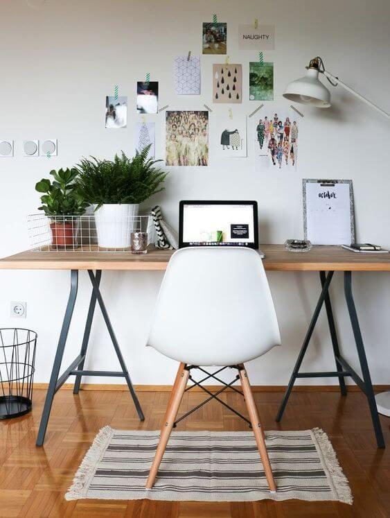 Mesa cavalete linda