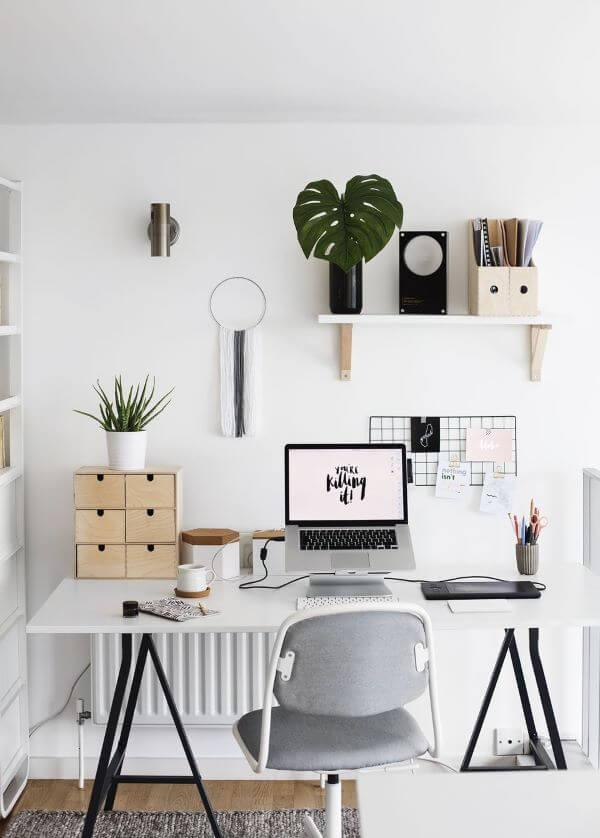 Mesa cavalete moderna
