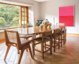 mesas e cadeiras para sala de jantar ampla Foto Curalate