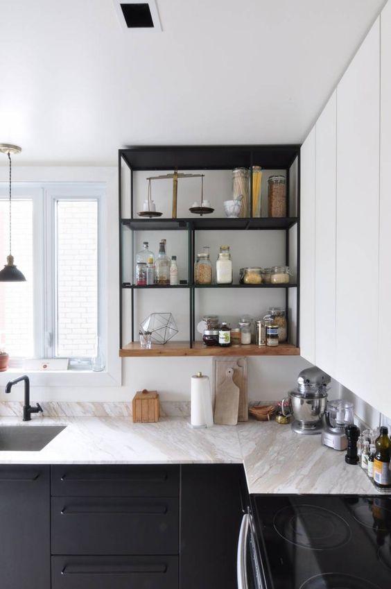 Nichos para cozinha moderna